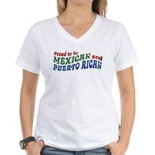 Proud Mexican and Puerto Rican Shirt