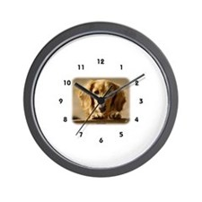 Dachshund 9L007D-15 Wall Clock