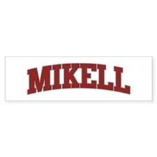 MIKELL Design Bumper Bumper Sticker