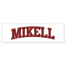 MIKELL Design Bumper Car Sticker