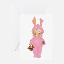 KEWPIE - BABY'S FIRST EASTER Greeting Card