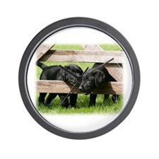 Labrador Pups 9Y415D-168 Wall Clock