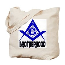 Freemason BROTHERHOOD Tote Bag