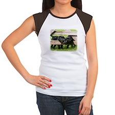 Labrador Pups 9Y415D-168 Women's Cap Sleeve T-Shir