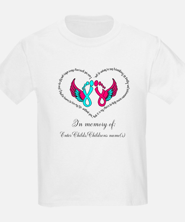 Custom Pregnancy Infant Loss T-Shirt