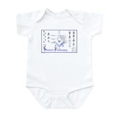 Structure of Masonry Infant Bodysuit