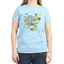 Buddha Noble - Animals and Floral T-Shirt