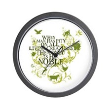 Buddha Noble - Animals and Floral Wall Clock