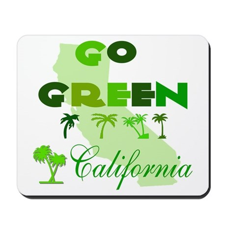 Go Green California Mousepad
