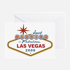 Just Married In Fabulous Las Vegas 2008 Sign Greet