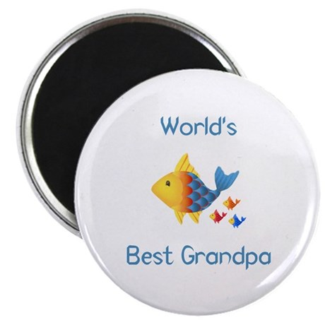 World 39 s best grandpa fish magnet by tjcreations for Best magnets for magnet fishing