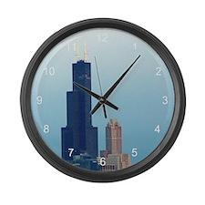 Sears Tower 2 Large Wall Clock