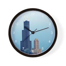 Sears Tower 2 Wall Clock