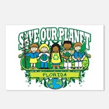 Earth Kids Florida Postcards (Package of 8)