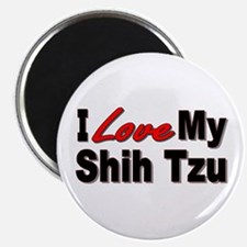 I Love My Shih Tzu Magnet