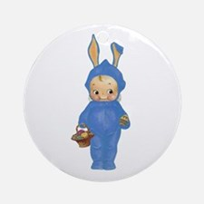 KEWPIE - BABY'S FIRST EASTER Ornament (Round)