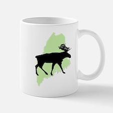 Go Green Maine Moose Mug