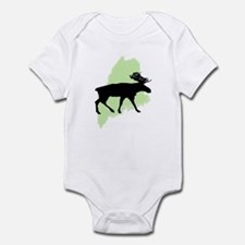 Go Green Maine Moose Infant Bodysuit