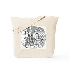 CANE Trojan Horse Tote Bag