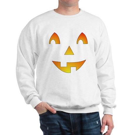 Jack-o-Lantern Face Sweatshirt