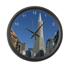 Transamerica Pyramid Large Wall Clock