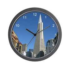 Transamerica Pyramid Wall Clock