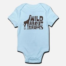 Wild About Giraffes Infant Bodysuit