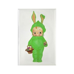 KEWPIE - BABY'S FIRST EASTER Rectangle Magnet (10