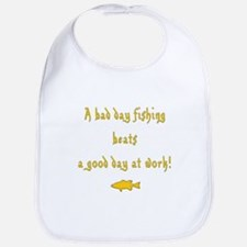 I Love Fishing Bib