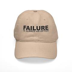 Failure Option Baseball Cap