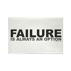 Failure Option Rectangle Magnet