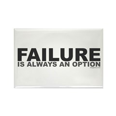 Failure Option Rectangle Magnet (100 pack)