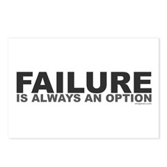 Failure Option Postcards (Package of 8)