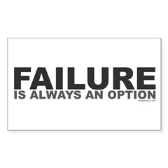 Failure Option Rectangle Decal
