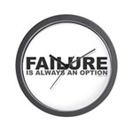 Failure Option Wall Clock