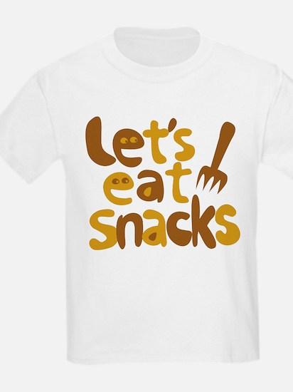 Let's Eat Snacks T-Shirt