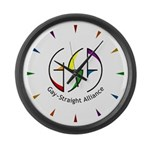 GSA Spin Large Wall Clock