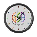 GSA Neon Large Wall Clock