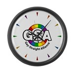 GSA ToonA Large Wall Clock