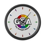 GSA ToonB Large Wall Clock