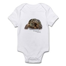 Ornate Box Turtle Infant Bodysuit