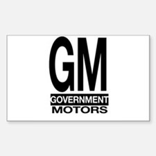 GM Rectangle Decal