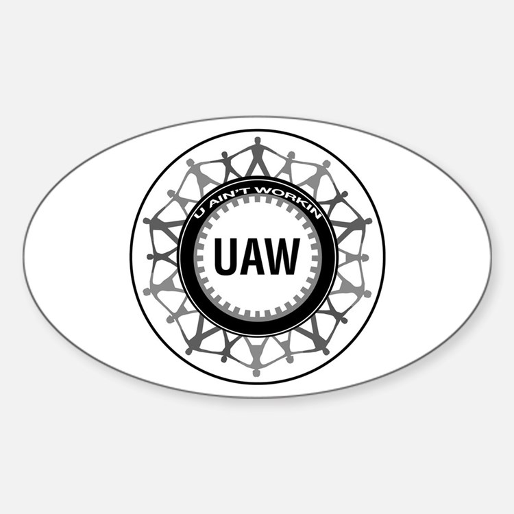 UAW Oval Decal