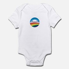 Barack Obama Rainbow Logo Infant Bodysuit