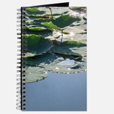 Sparkling Lily Pads Journal