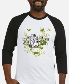 Darwin Noble - Animals and Floral Baseball Jersey