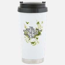 Darwin Noble - Animals and Floral Travel Mug