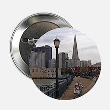 "San Francisco from Pier 39 2.25"" Button"
