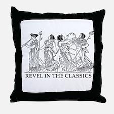 Cute Ancient greek Throw Pillow