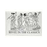 Revel classics Magnets